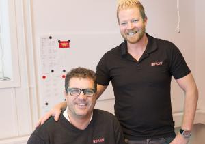 Tommy Berg och Robert Lantz, PLW-Gruppens ägare