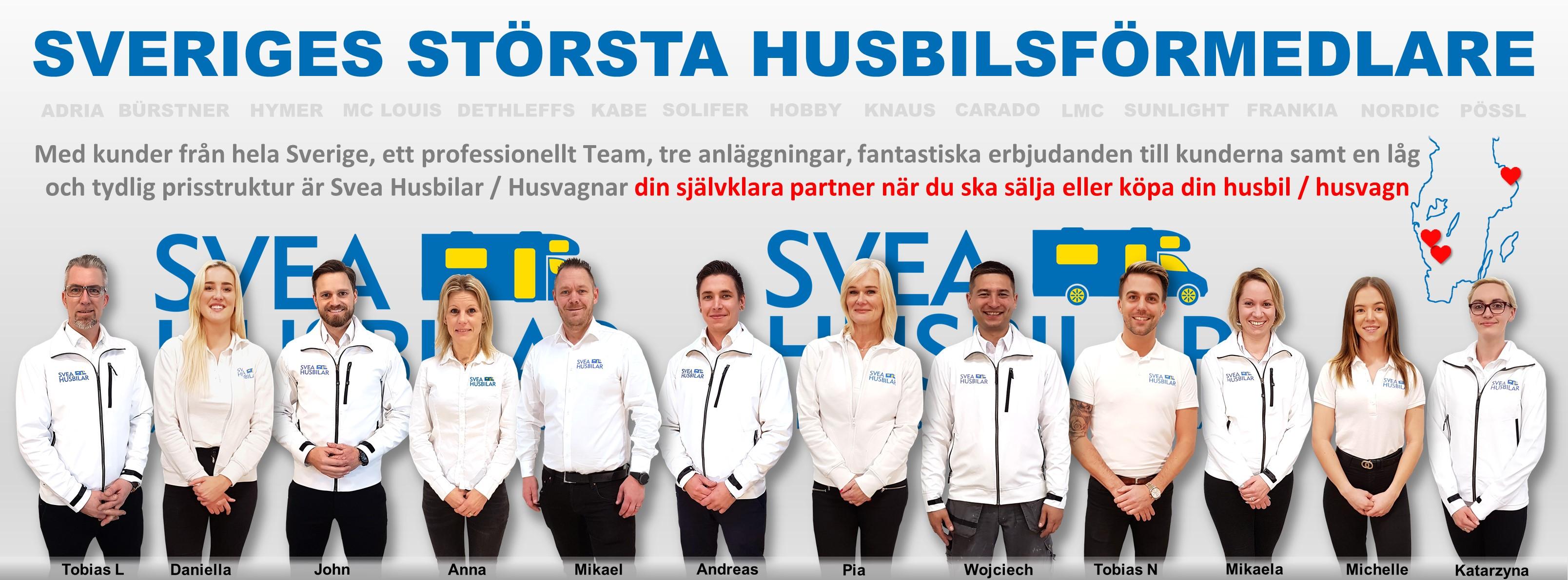 """Svea Husbilar: """"Helheten är bra. Tjänsten är lättillgänglig och går snabbt!"""""""