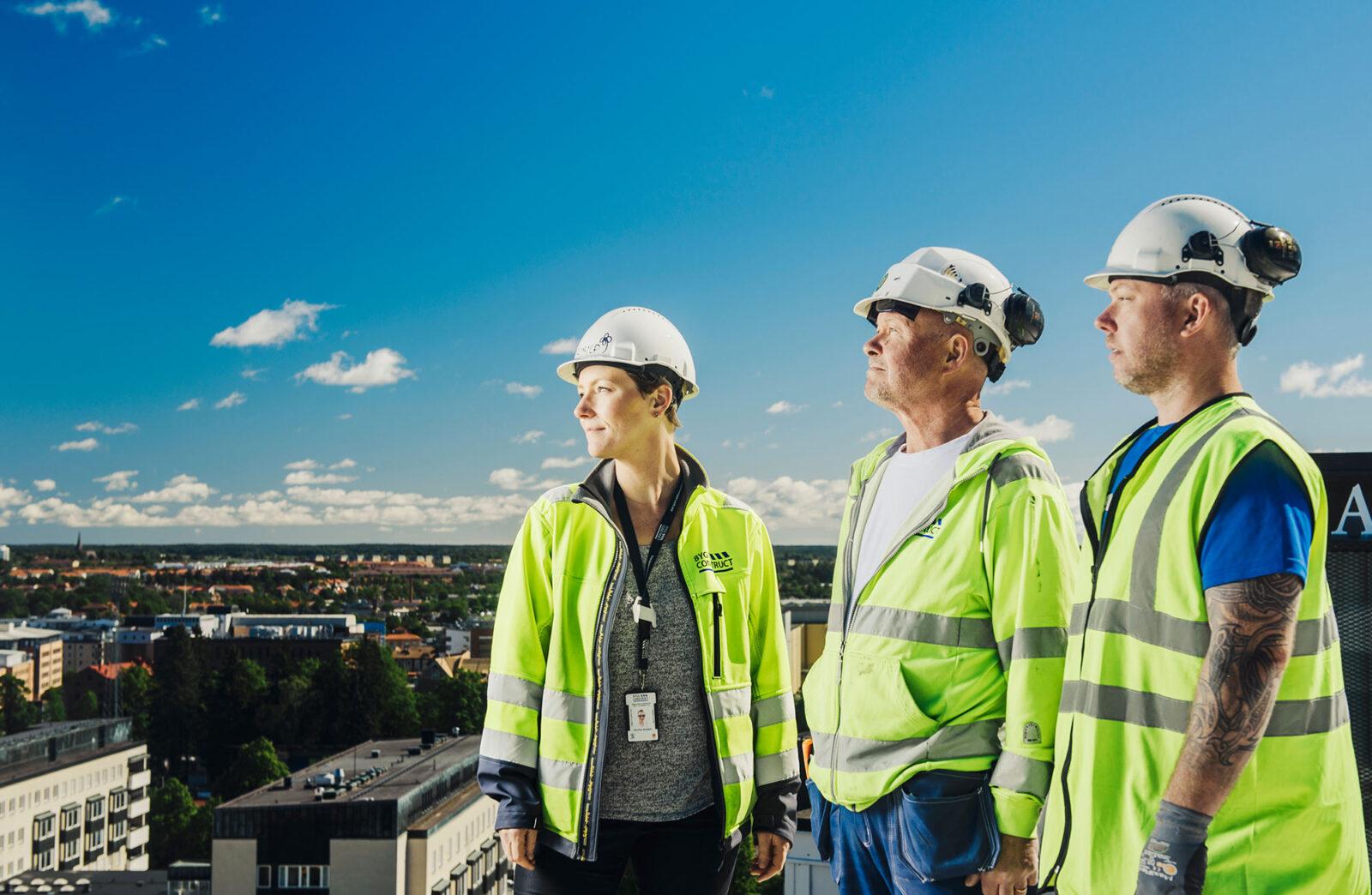 """(Svenska) Byggconstruct """"Vår referenssektion är kvittot på vad vi kan."""""""
